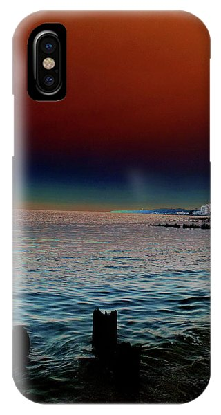 Night Winds And Waves IPhone Case