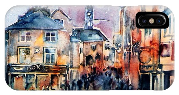Nightfall. High St. Kilkenny City  Ireland  IPhone Case