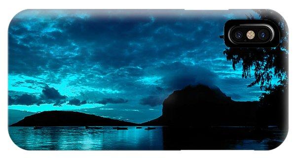 Nightfall In Mauritius IPhone Case