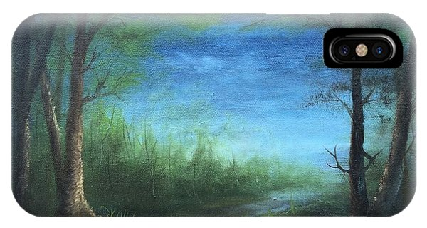 Nightfall In The Boggs  IPhone Case