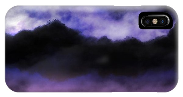 IPhone Case featuring the painting Nightfall by Mark Taylor