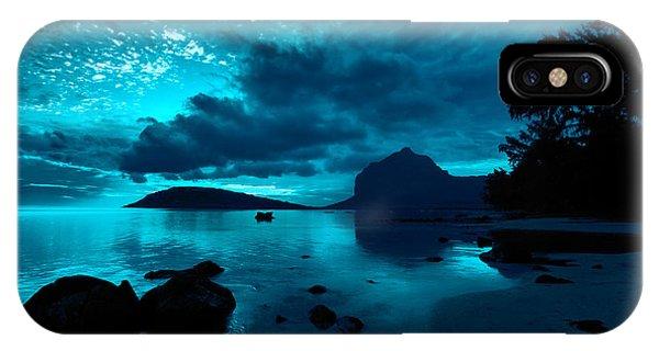 Nightfall Near Le Morne IPhone Case