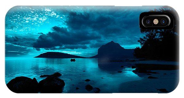 IPhone Case featuring the photograph Nightfall Near Le Morne by Julian Cook