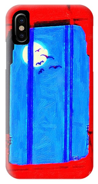 Avian iPhone Case - Nightfall Through The Golden Gate by Wingsdomain Art and Photography