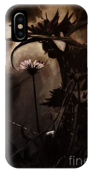 Nightflower IPhone Case