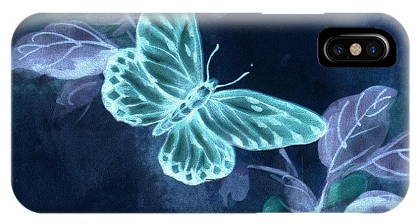 Nightglow Butterfly IPhone Case
