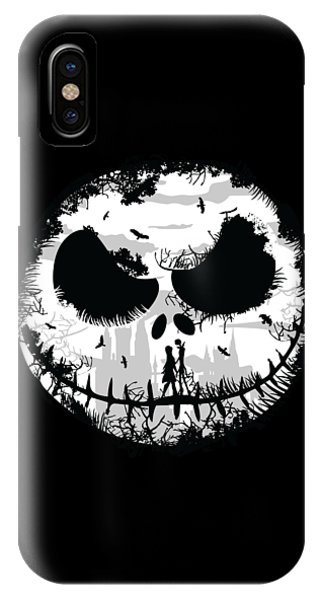 IPhone Case featuring the digital art Nightmare by Christopher Meade