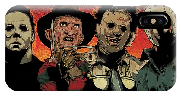 Illustration iPhone Case - Nightmare by Miggs The Artist