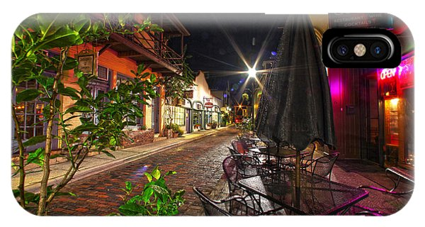 Nights In Oldtown IPhone Case