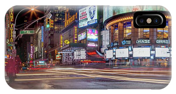New York City Taxi iPhone Case - Nights On Broadway by Az Jackson