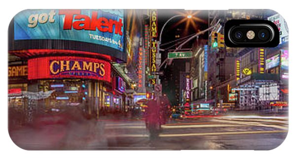 Times Square iPhone Case - Nights On Broadway by Az Jackson