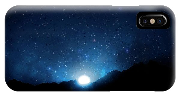Nightsky Africa 5 IPhone Case