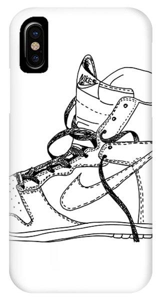 Nike Dunk 001 IPhone Case