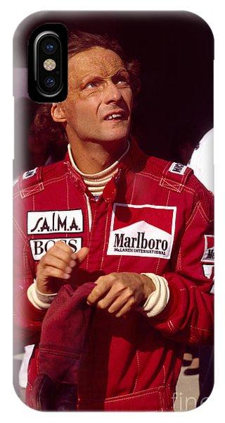 Niki Lauda. Marlboro Mclaren International IPhone Case