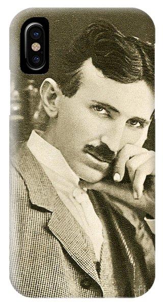 Nikola Tesla, Serbian-american Inventor IPhone Case