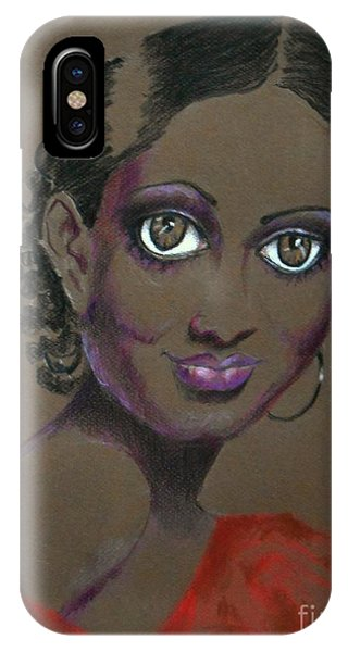 Nina Mae -- African-american Actress Portrait IPhone Case