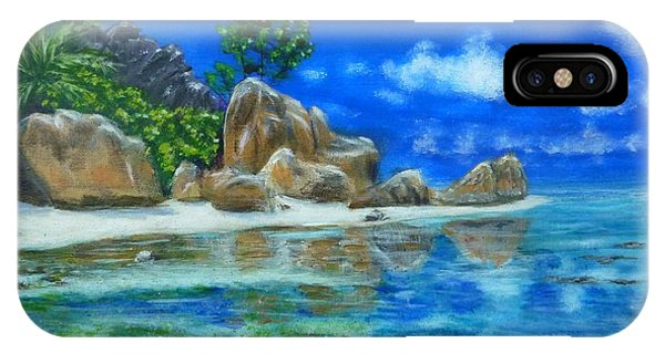 Nina's Beach IPhone Case