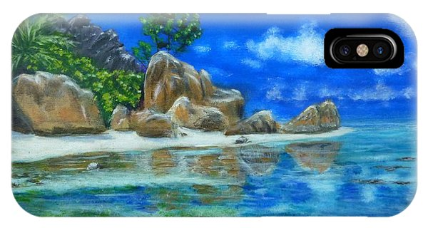 Nina's Beach IPhone Case