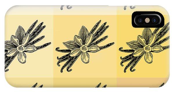 Lid iPhone Case - Nine Shades Of Vanilla by Irina Sztukowski