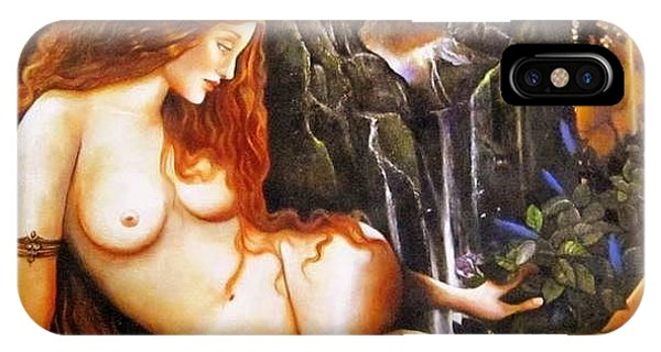 Ninhursag  Mountain Goddess  IPhone Case