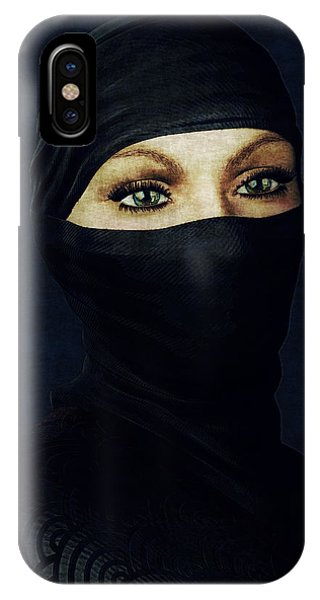 Ninja Portrait IPhone Case