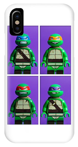 Raphael iPhone Case - Ninja Turtles by Samuel Whitton