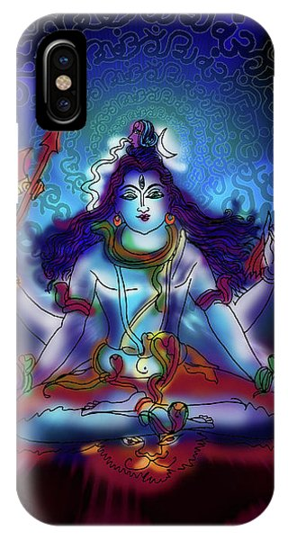 Nirvikalp Samadhi Kapali Shiva IPhone Case