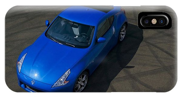 Nissan iPhone Case - Nissan 370z Coupe 2012 by Mery Moon