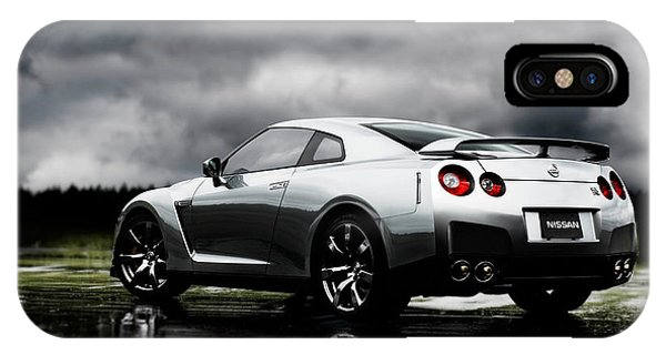 Nissan iPhone Case - Nissan Gt-r by Mery Moon