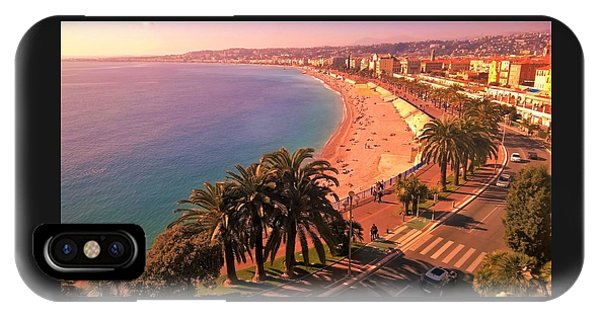 Nizza By The Sea IPhone Case