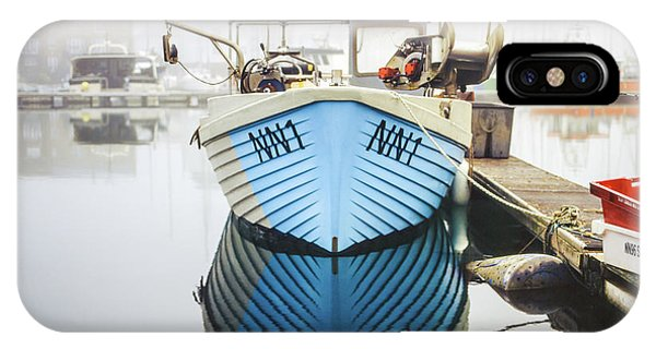 IPhone Case featuring the photograph Nn1 Fishing Boat Sovereign Harbour, Eastbourne. by Will Gudgeon