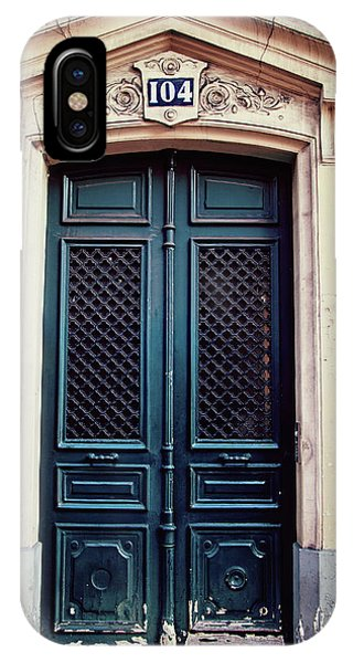 No. 104 - Paris Doors IPhone Case