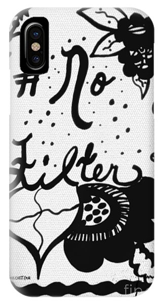 No Filter IPhone Case