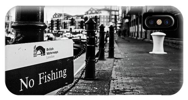 No Fishing IPhone Case