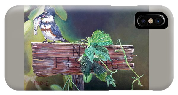 No Fishing IPhone Case