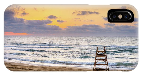 No Lifeguard On Duty. IPhone Case
