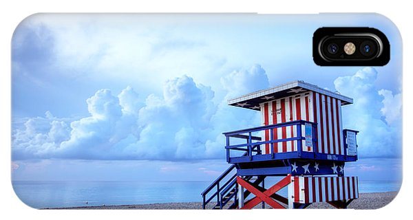 Martin iPhone Case - No Lifeguard On Duty by Martin Williams
