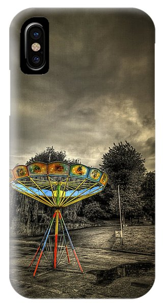 Carousel iPhone Case - No More Rides by Evelina Kremsdorf