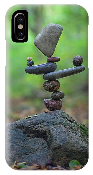 Zen Stack #5 IPhone Case