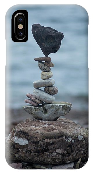 Zen Stack #6 IPhone Case