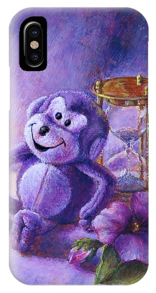 No Time To Monkey Around IPhone Case