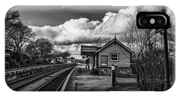 Swanage iPhone Case - No Train Today by Nigel Jones
