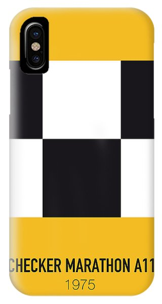 Duke iPhone Case - No002 My Taxi Driver Minimal Movie Car Poster by Chungkong Art