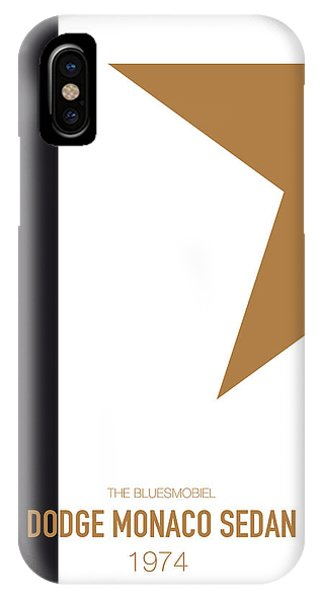 Duke iPhone Case - No004 My Blues Brothers Minimal Movie Car Poster by Chungkong Art
