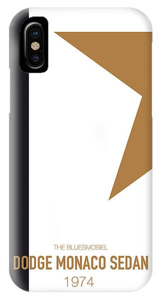 Knight iPhone Case - No004 My Blues Brothers Minimal Movie Car Poster by Chungkong Art