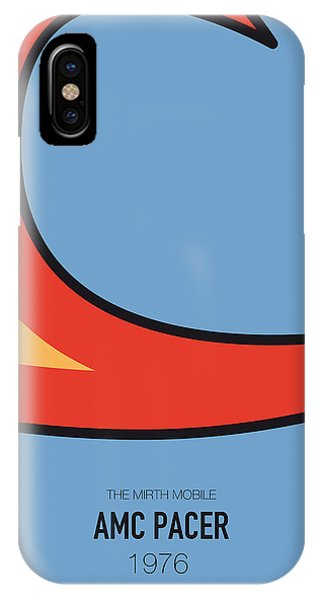 Knight iPhone Case - No010 My Waynes World Minimal Movie Car Poster by Chungkong Art