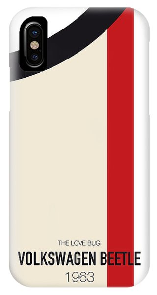 Knight iPhone Case - No014 My Herbie Minimal Movie Car Poster by Chungkong Art