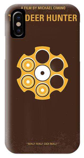 Robert De Niro iPhone Case - No019 My Deerhunter Minimal Movie Poster by Chungkong Art