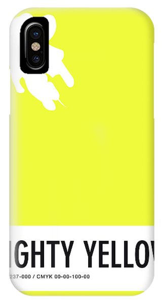 No02 My Minimal Color Code Poster Mighty Mouse IPhone Case