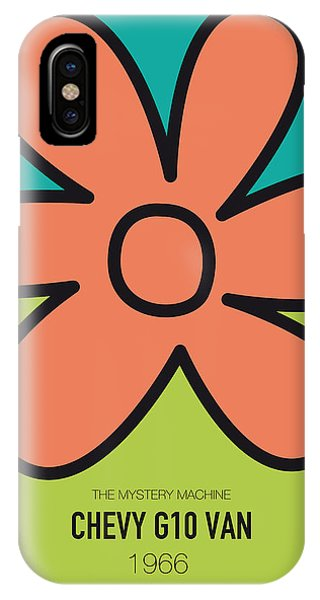Knight iPhone Case - No020 My Scooby Doo Minimal Movie Car Poster by Chungkong Art